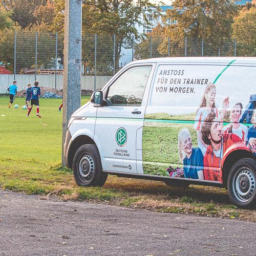 Das DFB-Mobil zu Gast bei unserer D-Jugend
