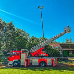 Die Feuerwehr kommt zu Hilfe!